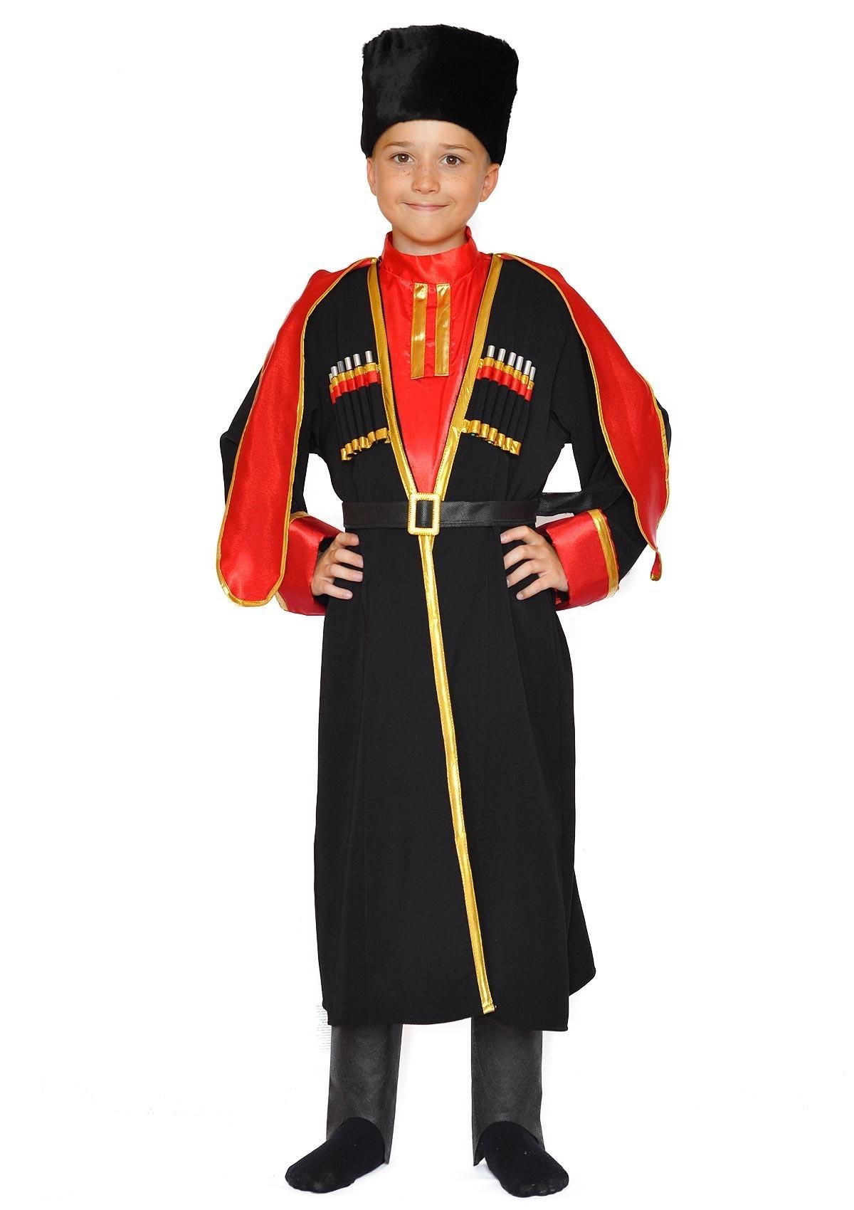 Детский костюм донского казака (30) детский костюм сказочного клоуна 30