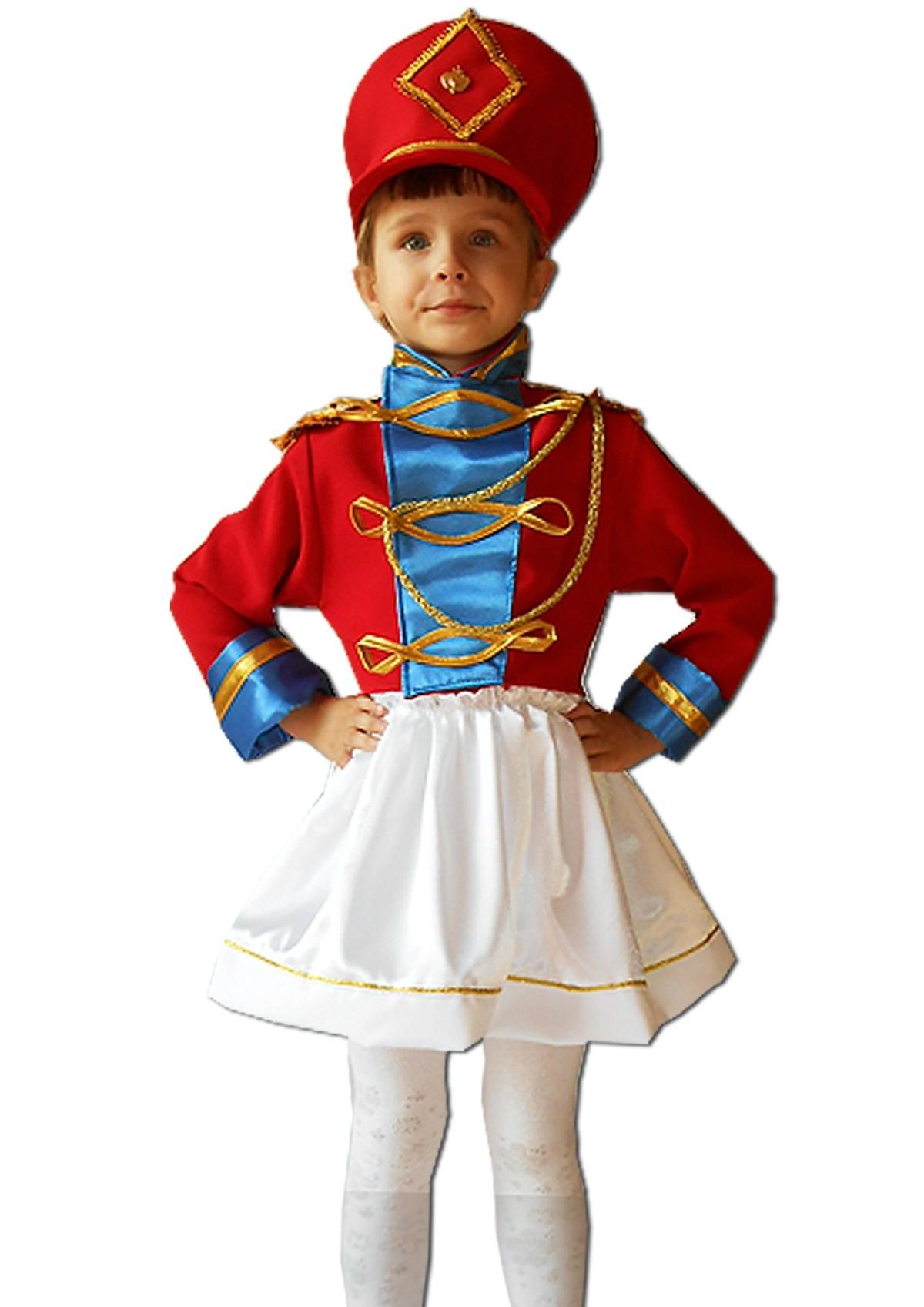 Детский костюм маленькой мажоретки (30) детский костюм озорного клоуна 34