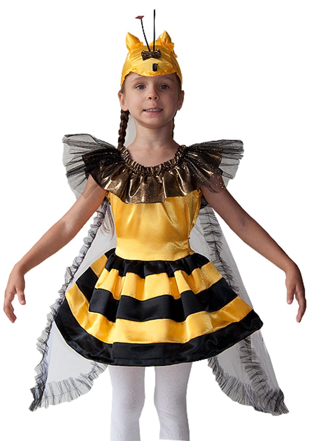 Костюм пчелки своими руками для девочки из подручных материалов