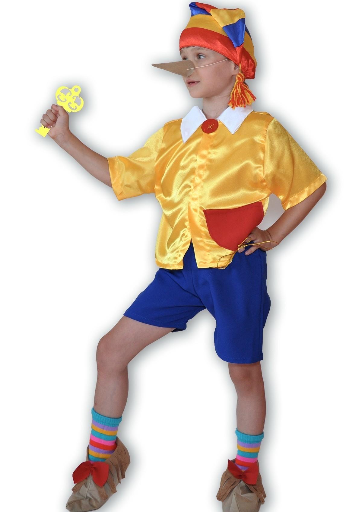 Костюм сказочного Буратино (30) детский костюм сказочного клоуна 30