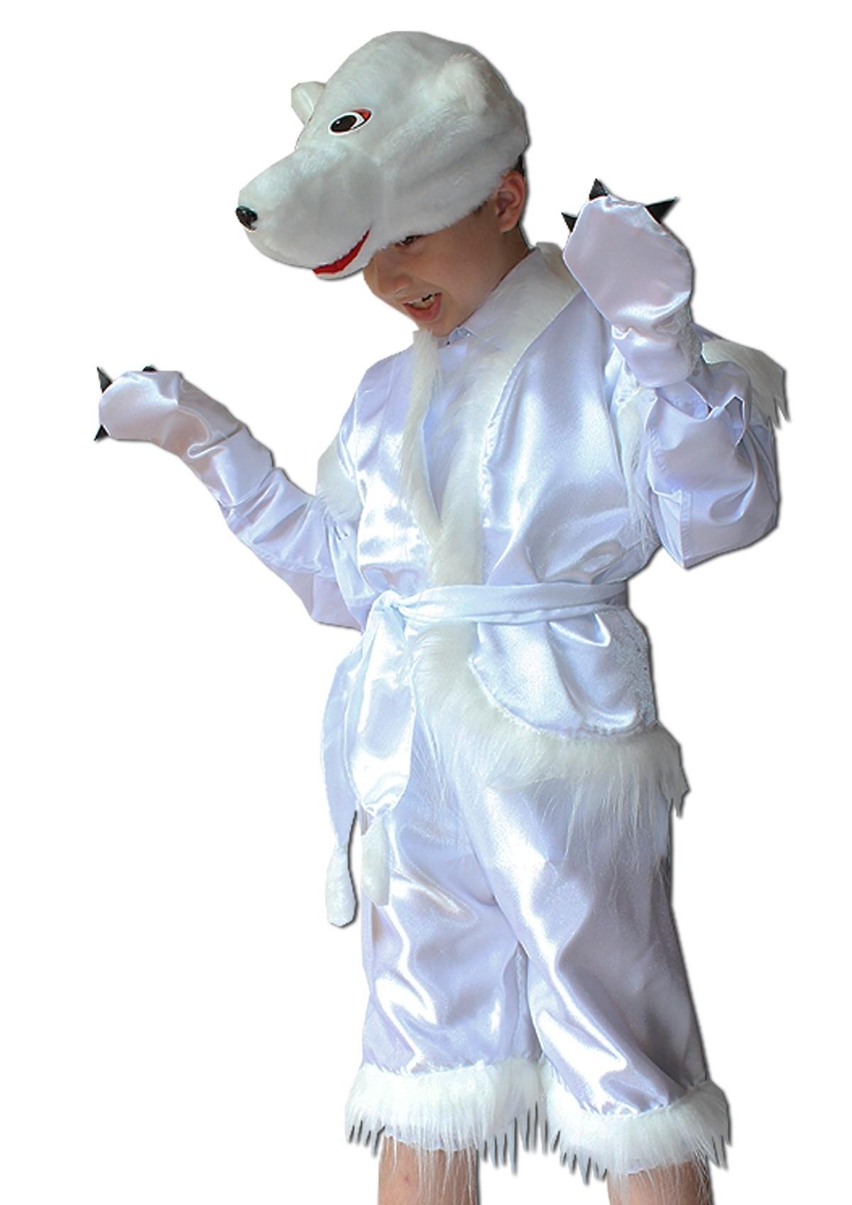 Детский костюм белого медвежонка (30) авито омск костюм белого медведя