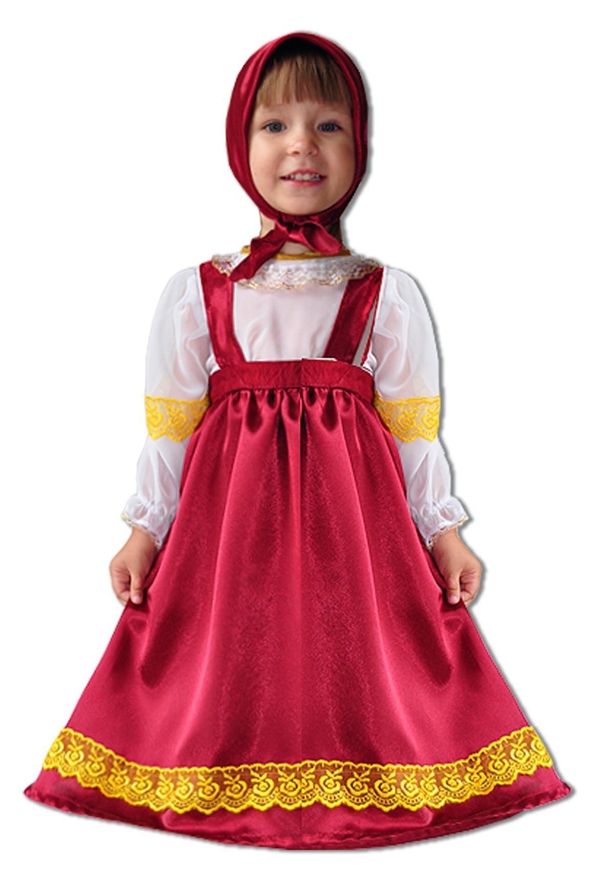 Детский костюм Маши (30) - Сказочные герои, р.30