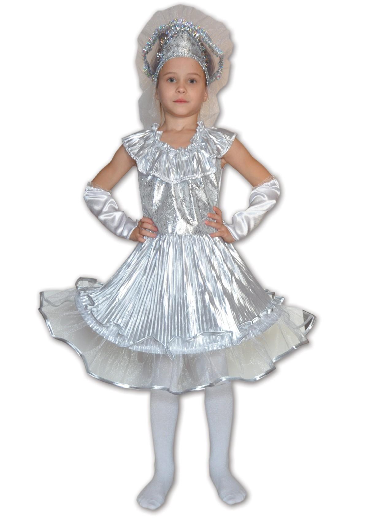 Детский костюм Снежинки (28) детский костюм зимней снежинки 32