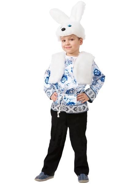 Детский костюм белого зайчика (32)
