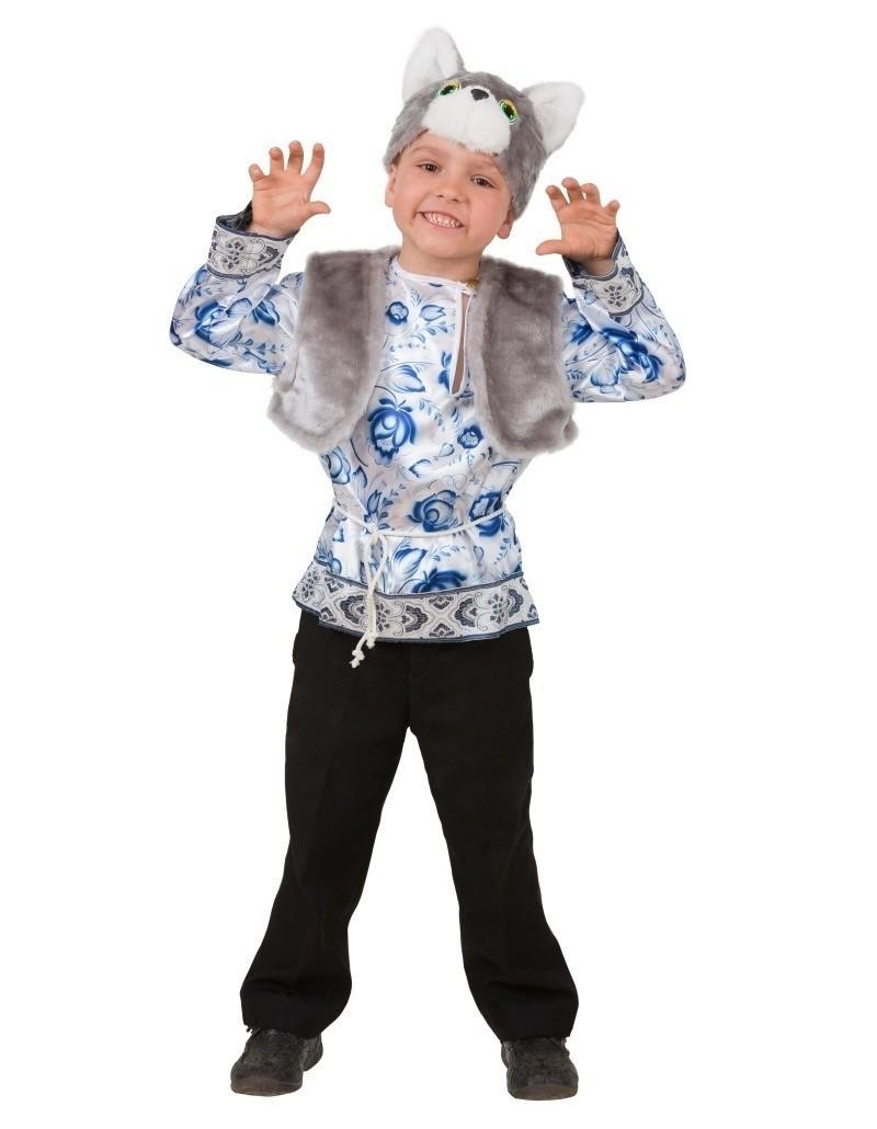 Детский костюм Серого Котика (30) детский костюм озорного клоуна 34