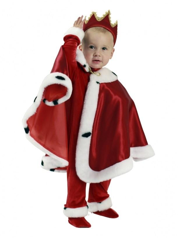 Детский костюм Короля красный (24-26) -  Исторические костюмы