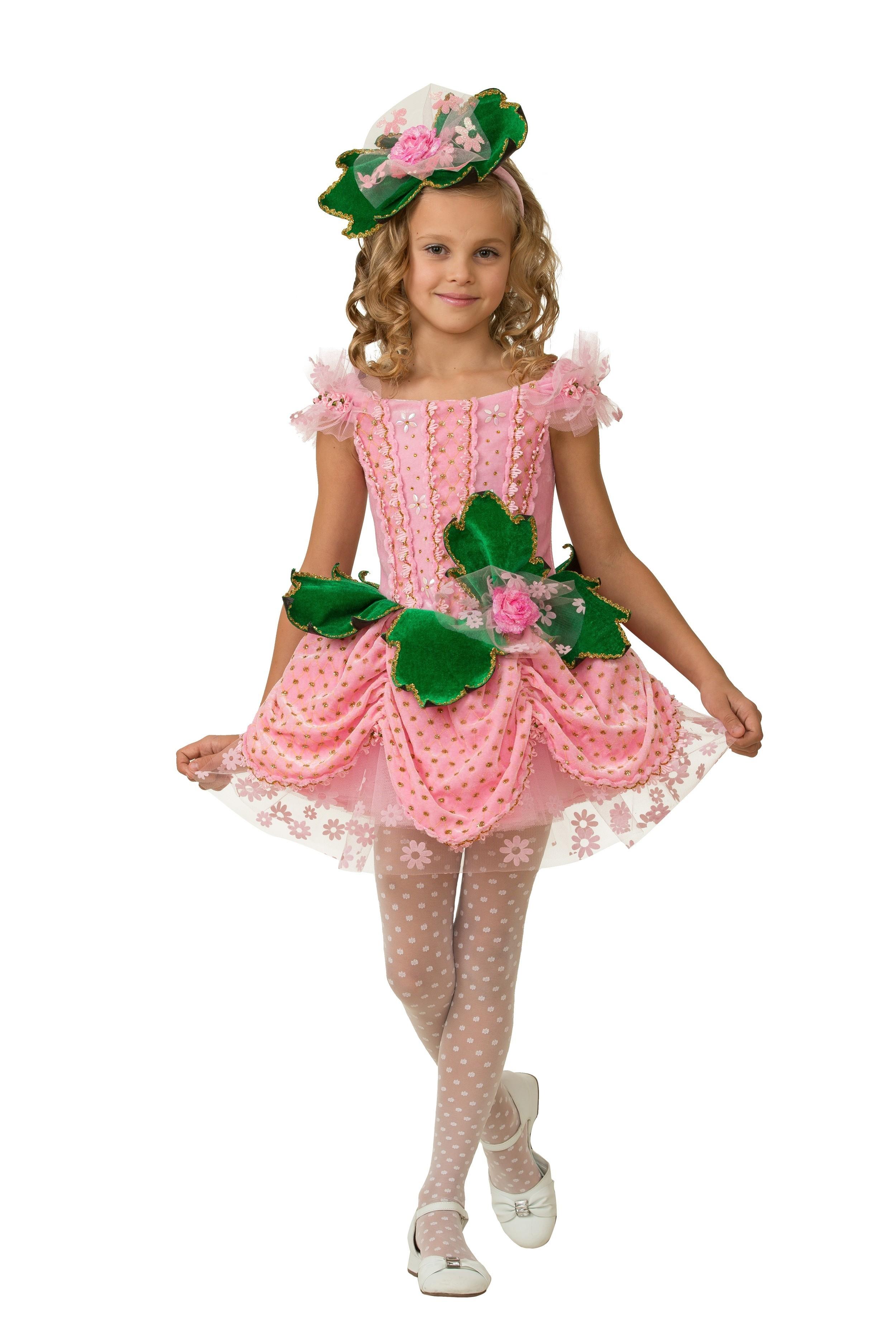 Детский костюм милой Дюймовочки (30) детский костюм милой золушки 30 32