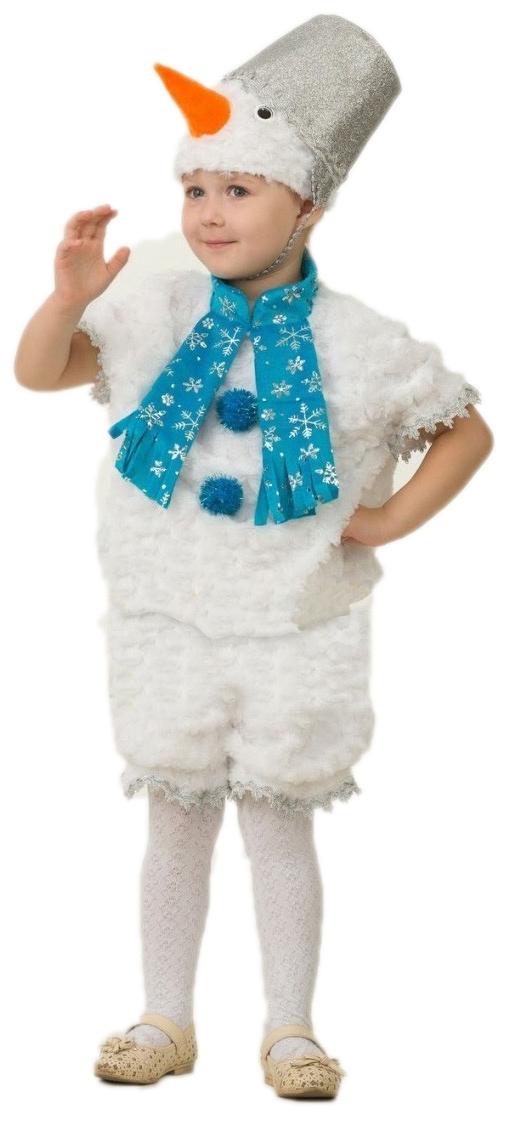 Костюм плюшевого снеговика (28)