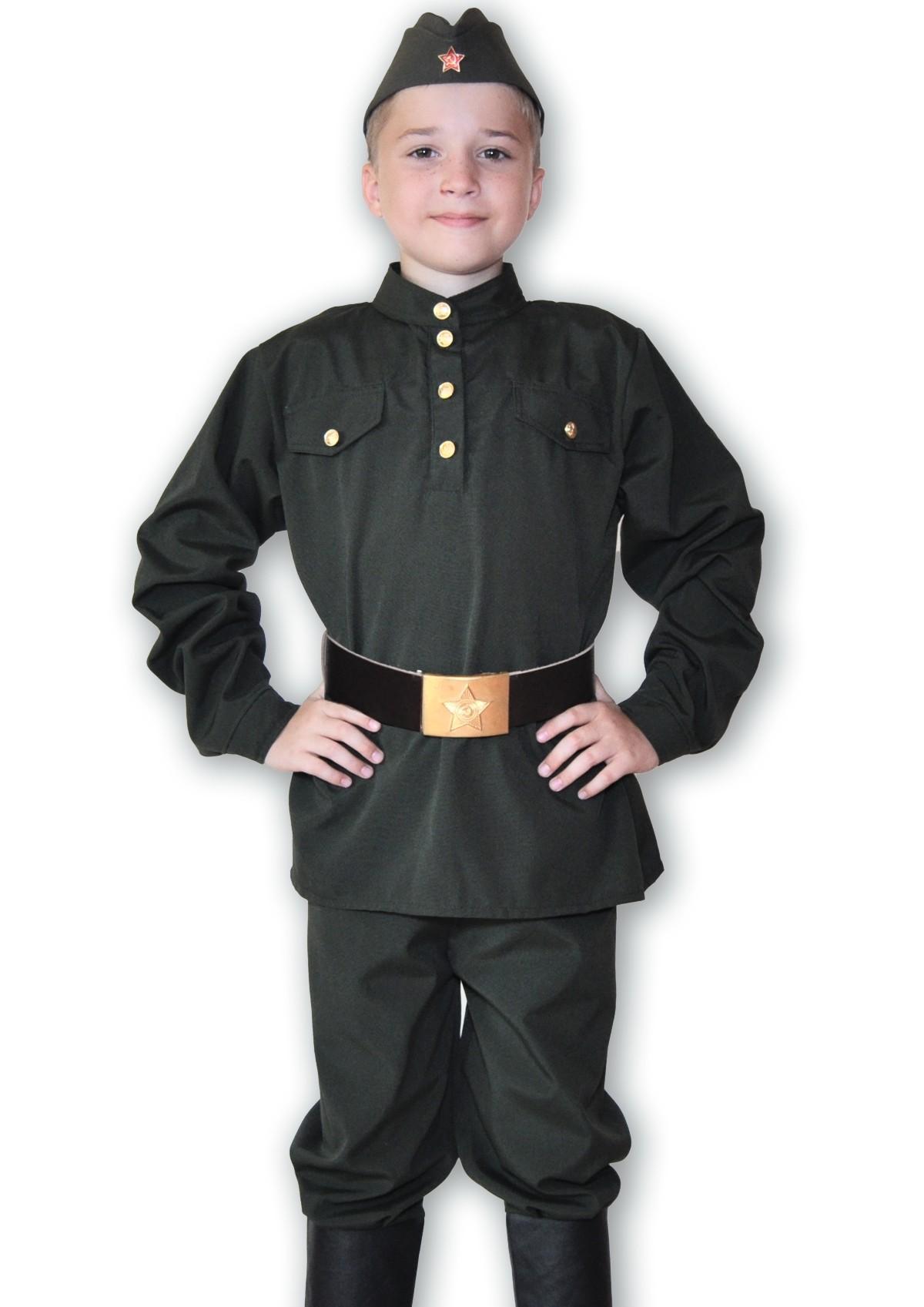 Детский костюм военного мальчика (32)