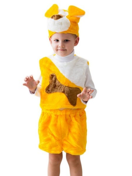 Желтый костюм собачки (24)