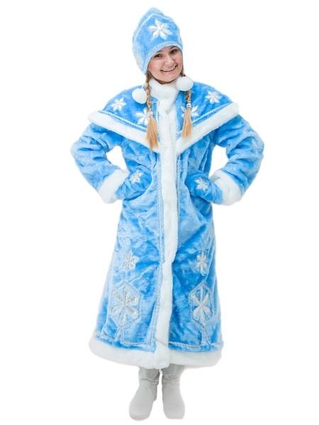 Костюм снегурочки Dlx (44-50) костюм серебристой снегурочки 46 50