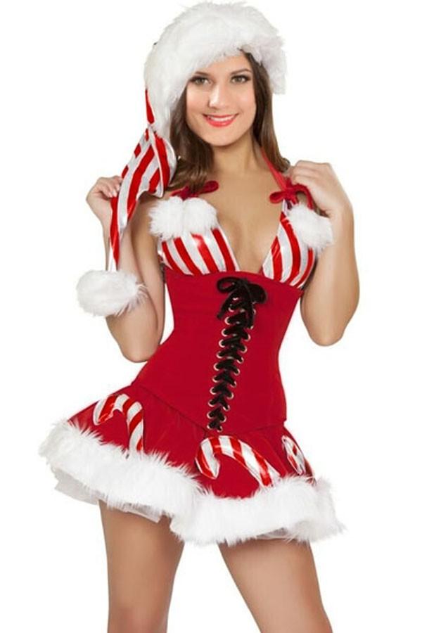 Новогодний костюм Конфетки (44) где костюм снегиря новогодний в новосибирске