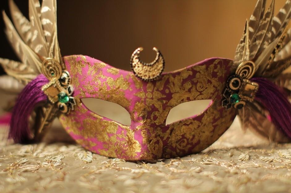 Маска Королева Ночи (UNI) плащ и маска штурмовик uni