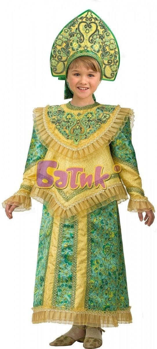 Детский костюм Царевны (34) детский костюм чертика 34