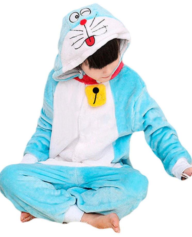 Детская пижама Кигуруми Кот Дораэмон (28) пижамы три кота пижама