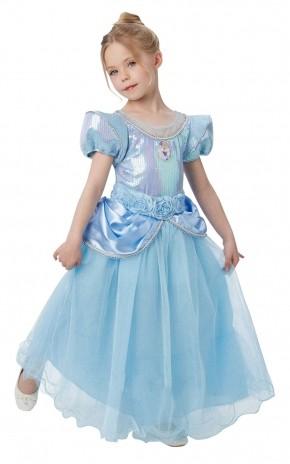 Детский костюм Золушки Deluxe (26-28) детский костюм малышки золушки 24