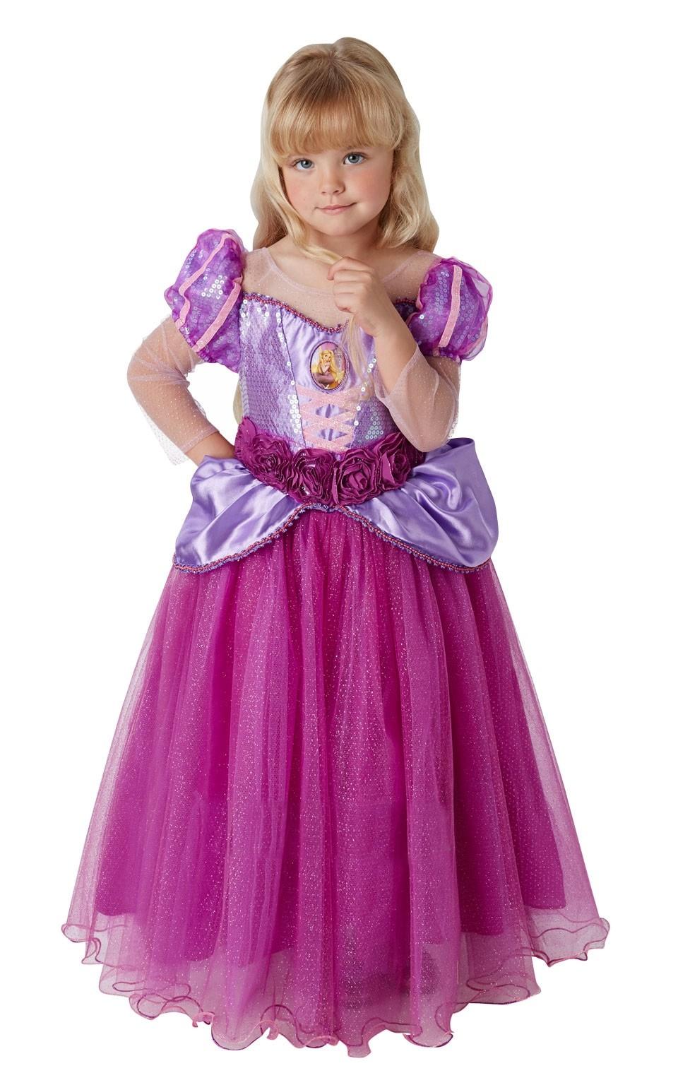 Детский костюм Рапунцель Deluxe (S) - Сказочные герои