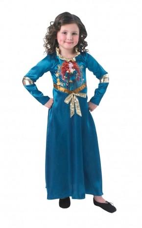 Детский костюм храброй Мериды (30-32) детский костюм озорного клоуна 34