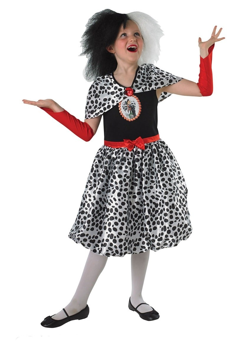 Костюм Круэллы Де Виль детский (36-38) детский костюм клоуна весельчака 38