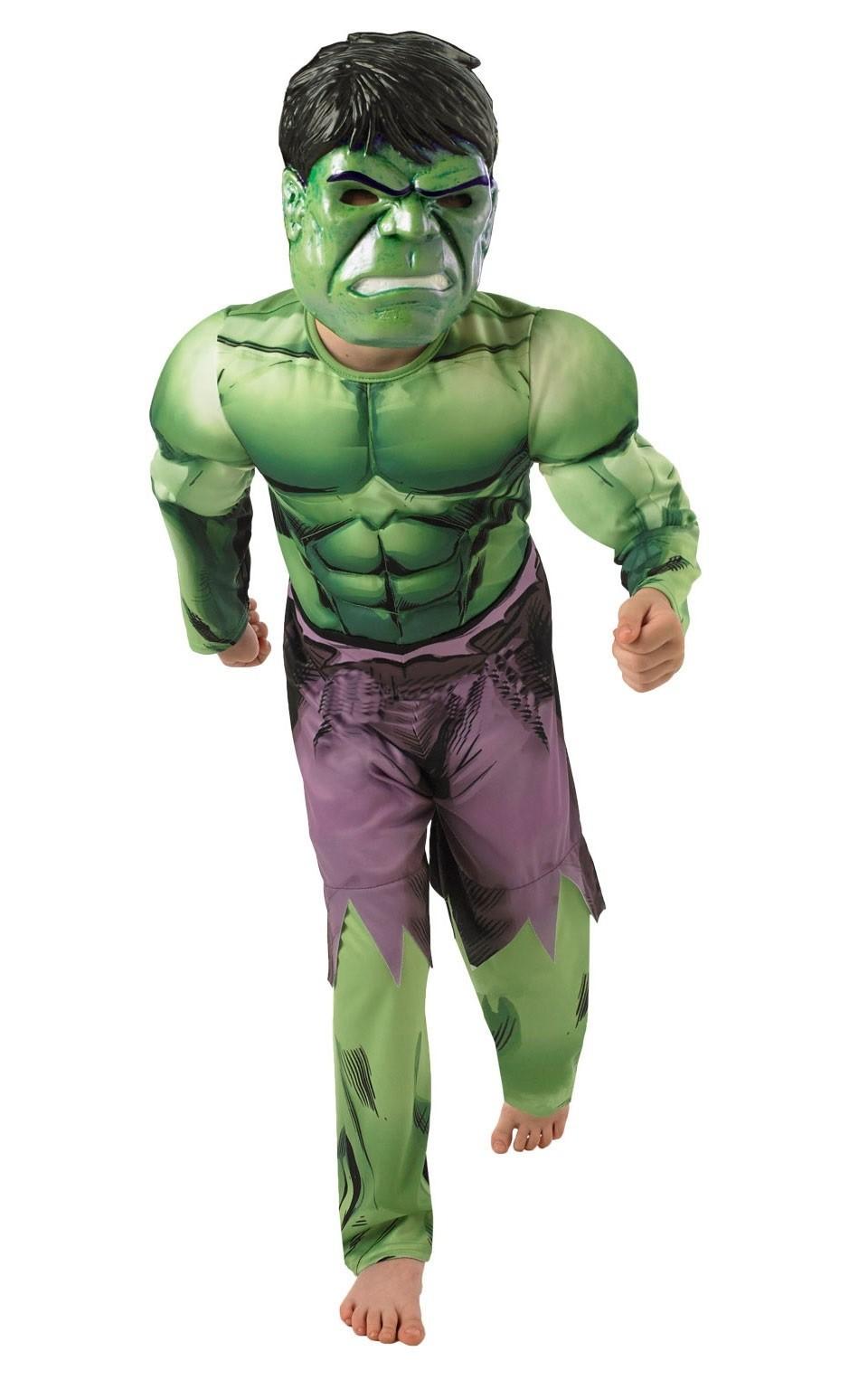 Детский костюм Халка Dlx (S) - Супергерои и комиксы
