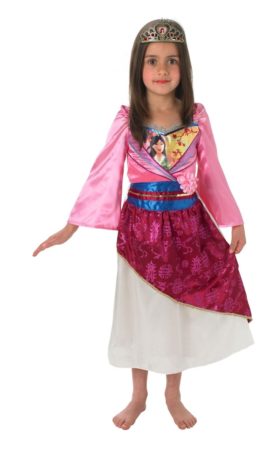 цены на Детский костюм принцессы Мулан (28-30) в интернет-магазинах