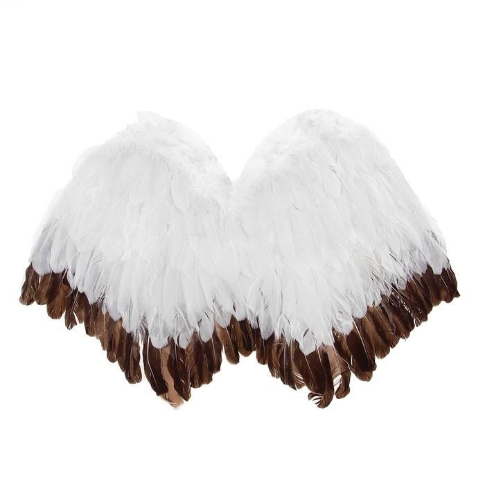 Крылья ангела бело-коричневые (UNI) - Крылья