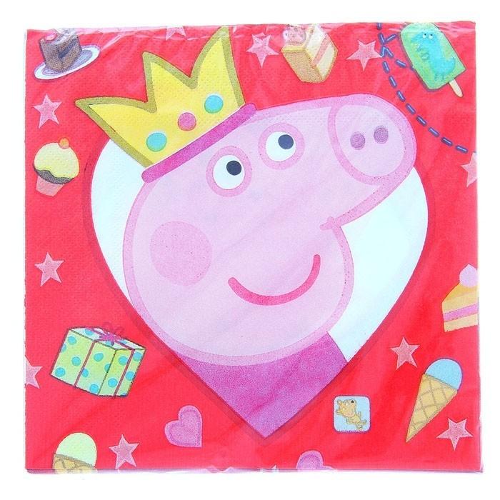 Набор салфеток Свинка Пеппа - Сказочные герои