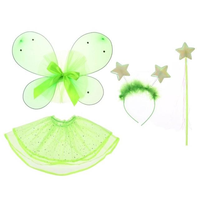 Детский набор зеленой бабочки (26) - Крылья ангелов и демонов, р.26