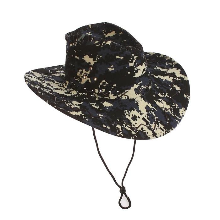 Ковбойская шляпа пиксельный камуфляж (UNI) шляпы krife шляпа