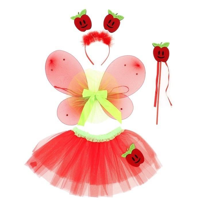 Набор яблочной феи (26) карнавальный набор шампания бабочка ободок с пух палочка