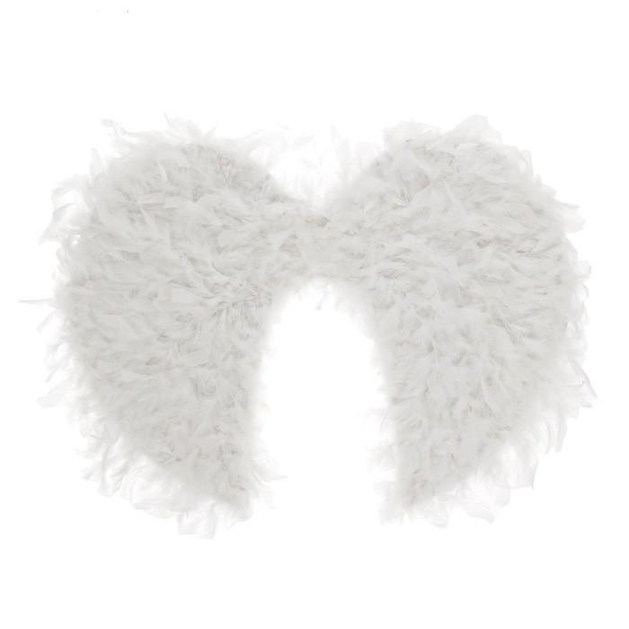 Белые пушистые крылья ангела (UNI) - Крылья
