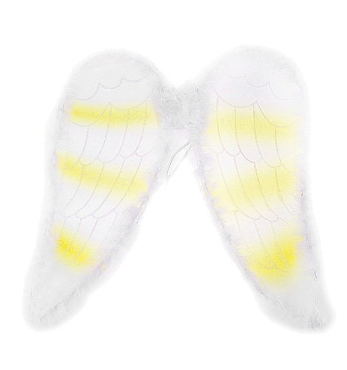 Бело-желтые ангельские крылья (UNI) - Крылья