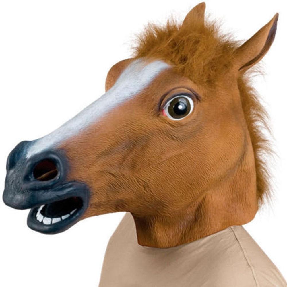 Маска Голова Коня - Карнавальные маски