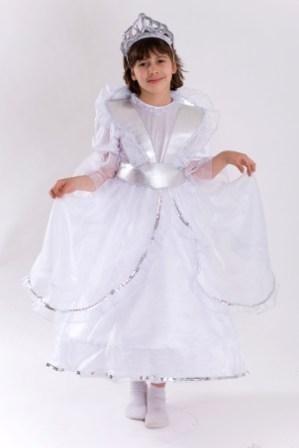 Белый костюм Королевы (38-40) детский костюм жуткого клоуна 38 40