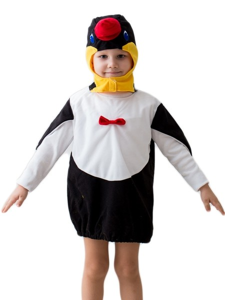 Детский костюм пингвина (24) костюм пингвина москва