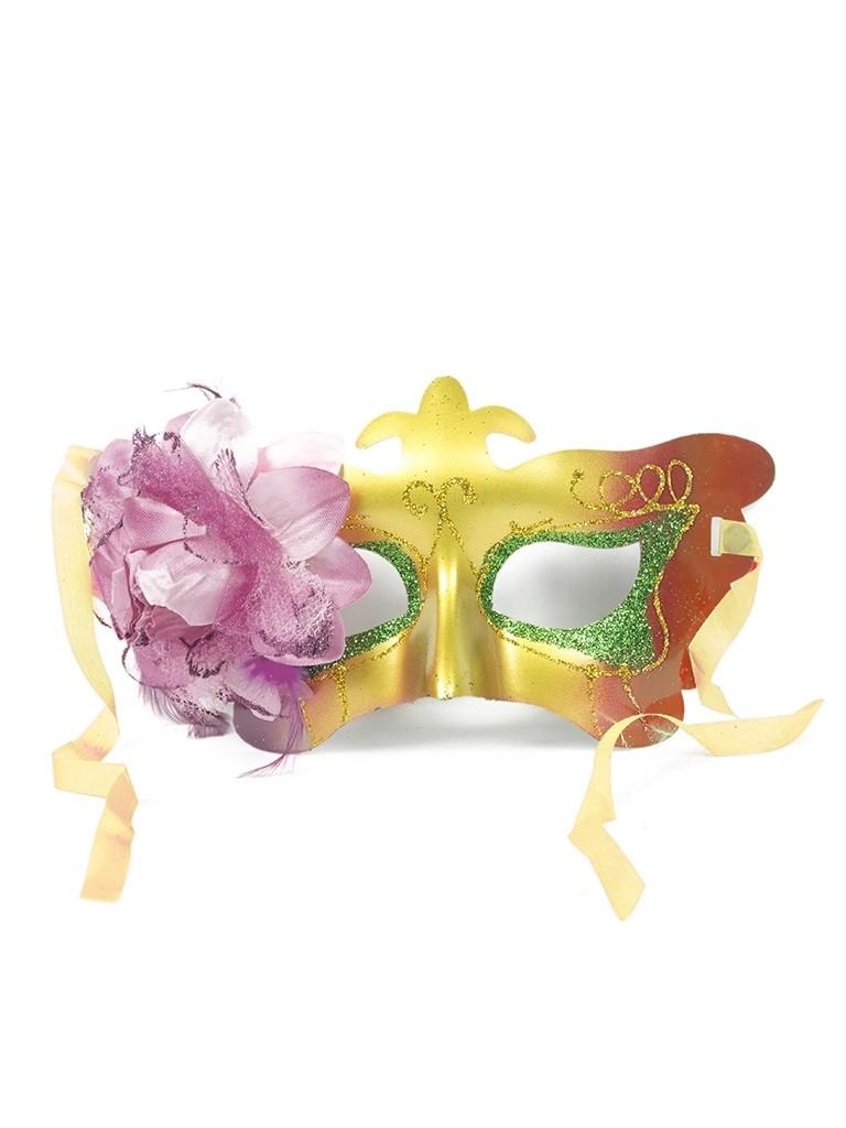 Карнавальная маска с цветком (UNI) плащ и маска черепашка ниндзя uni