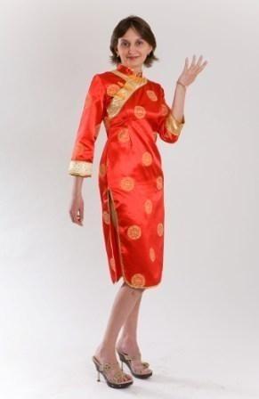 Детский костюм Китаянки (38-40) детский костюм клоуна весельчака 38