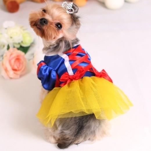 Костюм для собак Белоснежка (L) костюм белоснежка делюкс детский