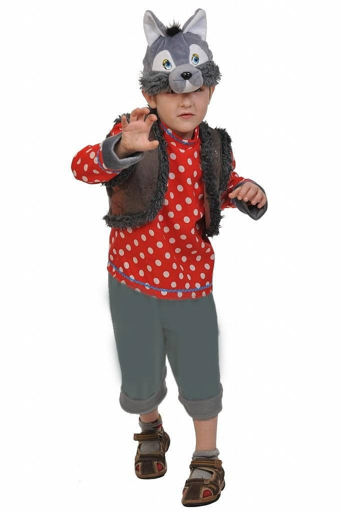 Детский костюм Серого Волка (28) - Животные и зверушки, р.28