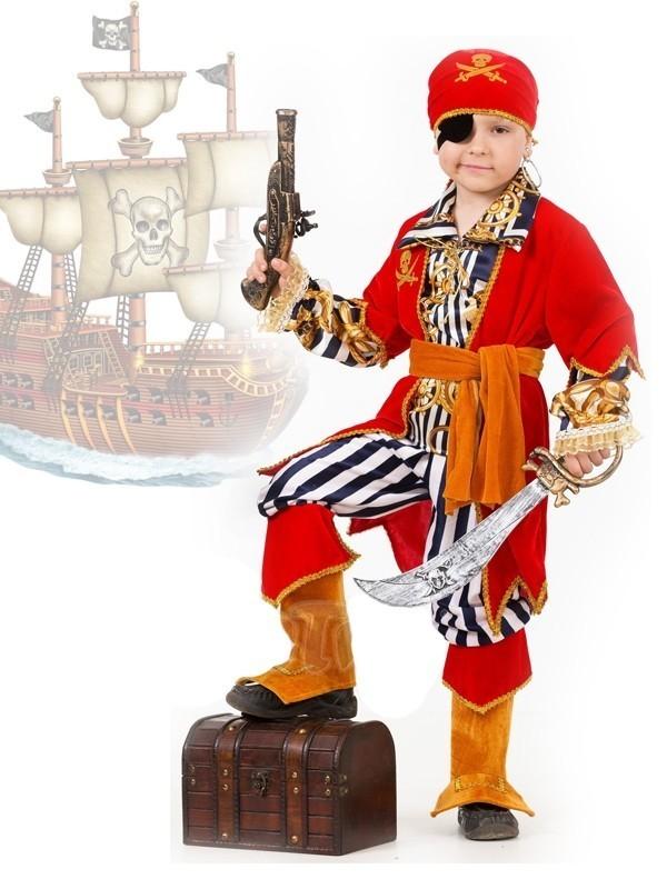 купить Детский костюм морского пирата (38) недорого