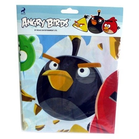 Скатерть Angry Birds (UNI) самокат 2 х колесный top gear angry birds d20 см черный т55957