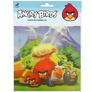 Салфетки Angry Birds (UNI) самокат 2 х колесный top gear angry birds d20 см черный т55957