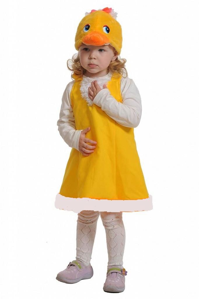 Детский костюм уточки (26-32) детский костюм озорного клоуна 34