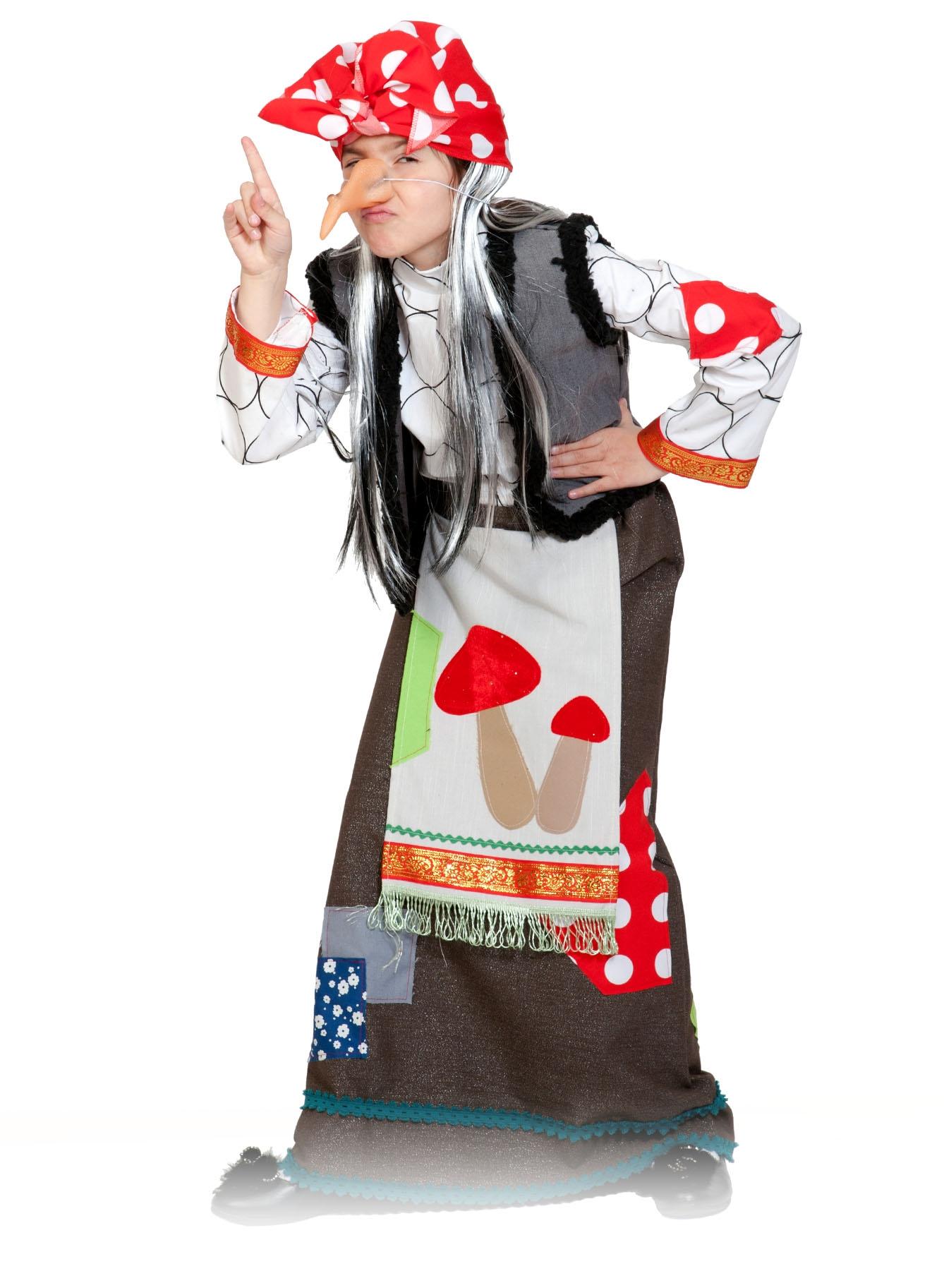 Детский костюм Бабы Яги (XL) - Сказочные герои