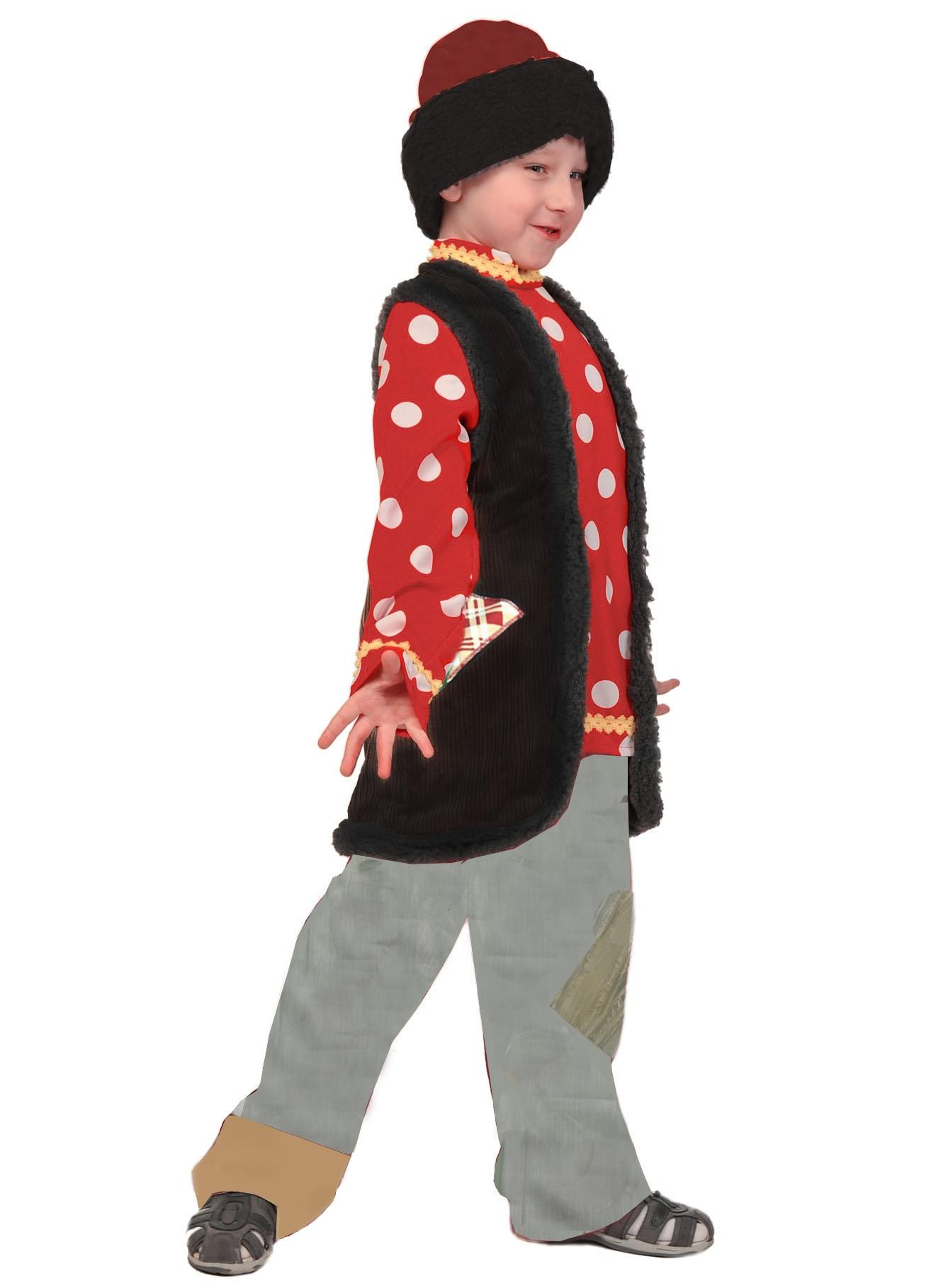 Карнавальный костюм Емели (M) - Национальные костюмы