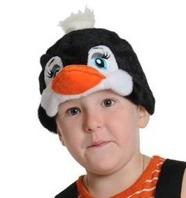 Плюшевая маска Пингвинчик от Vkostume