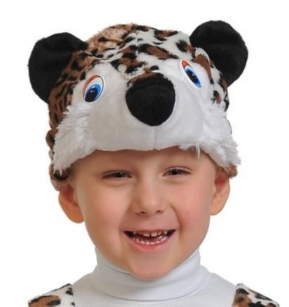 Плюшевая маска Леопардика (UNI) -  Животные и зверушки