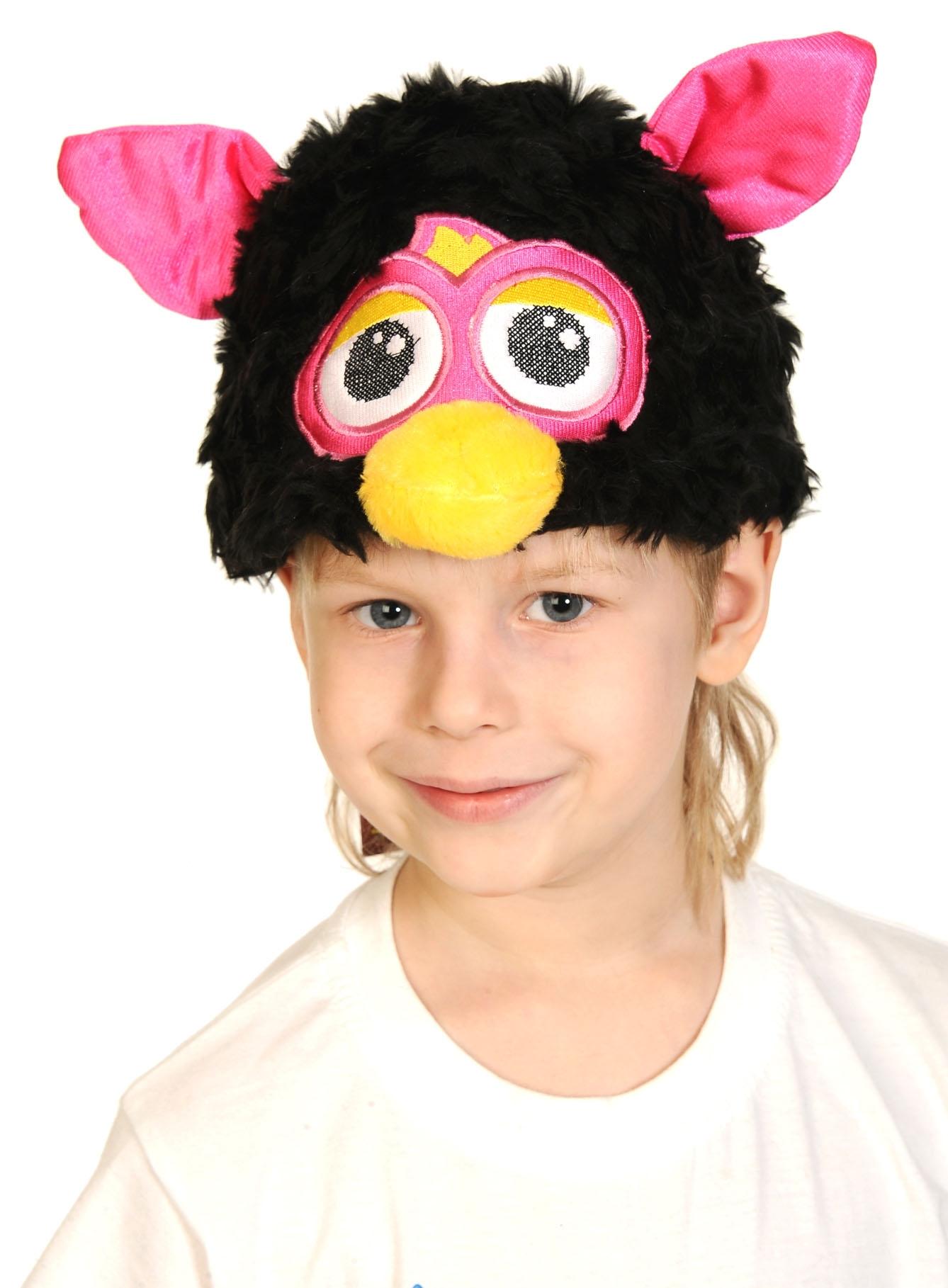 Черная шапочка-маска Ферби (UNI) шапочка маска ферби черная uni