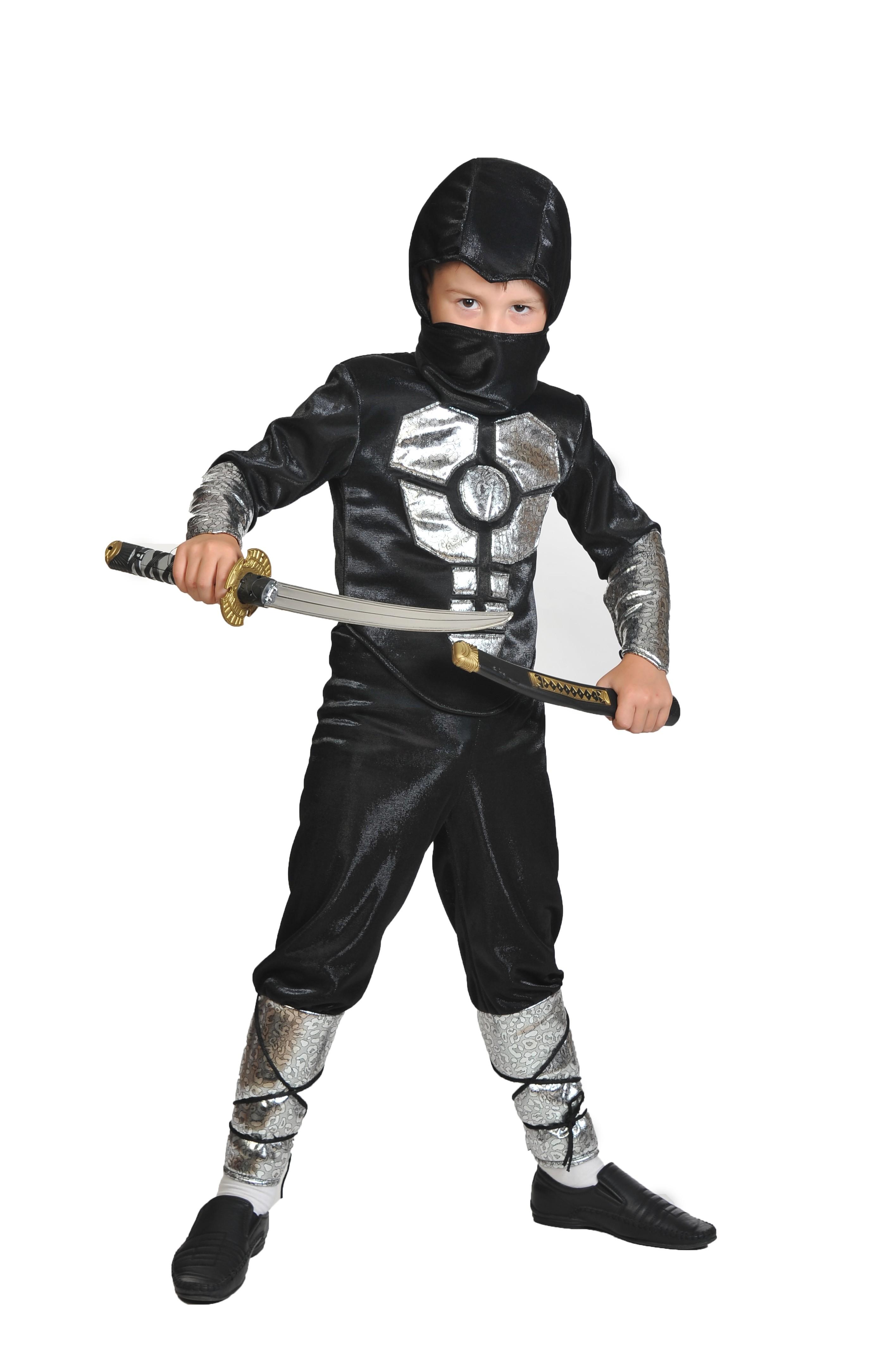 Черный костюм Ниндзя (34-36)