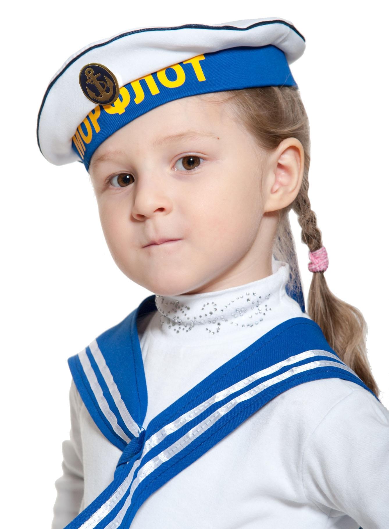 Морская бескозырка для детей (54-55) -  Пираты и моряки